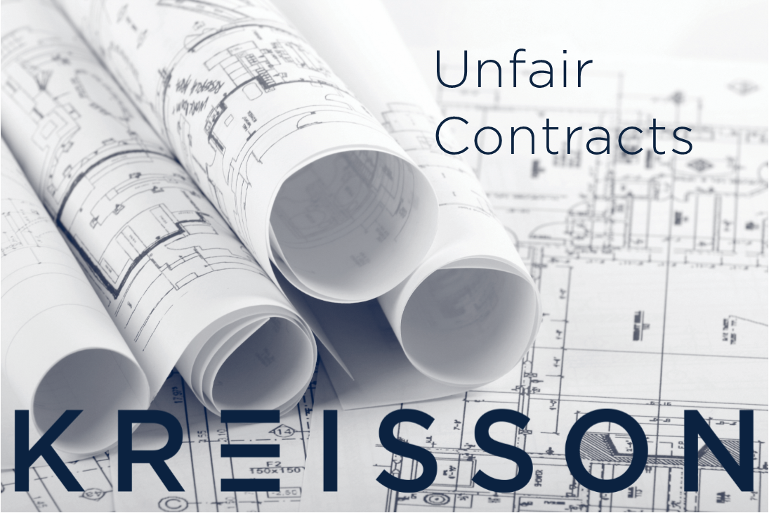 Podcast: Unfair Contracts Seminar